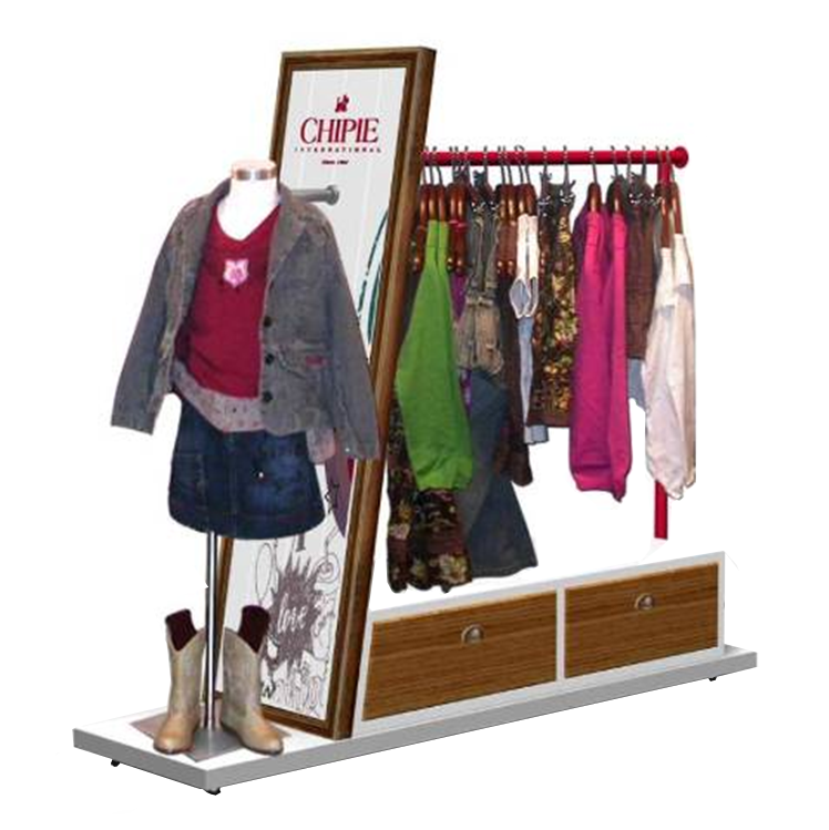 garment storage and display cabinet