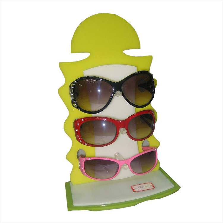 cartoon sunglasses display rack