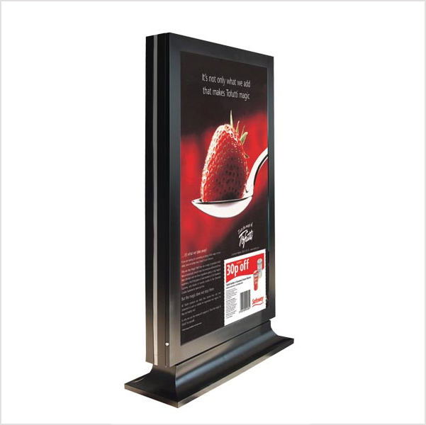 high-end advertising display fixture