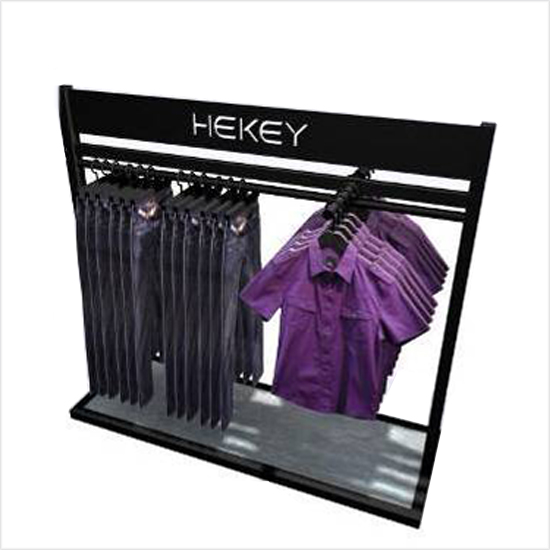 men's clothes display rack